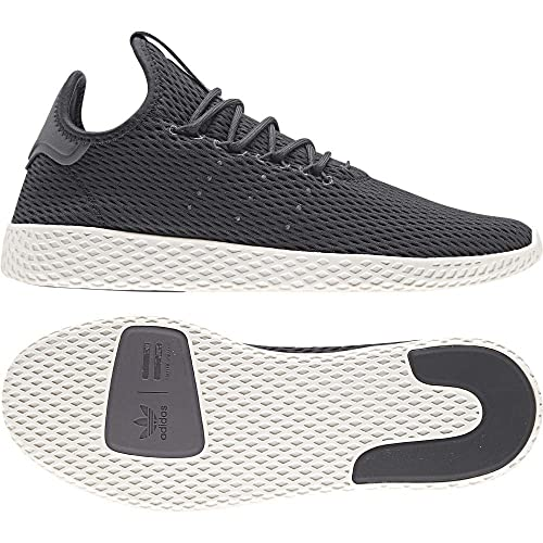 Adidas ORIGINALS Pharrell Williams Tennis Hu Baskets, Gris