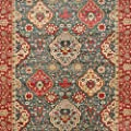 Safavieh Mahal Collection MAH655C Traditional Oriental Navy and Red Area Rug