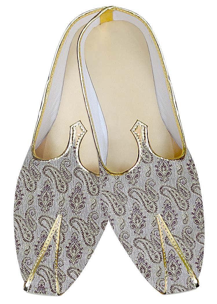 INMONARCH Lavanda Hombres Boda Zapatos Zapatos Zapatos Paisley MJ017054 8012ca