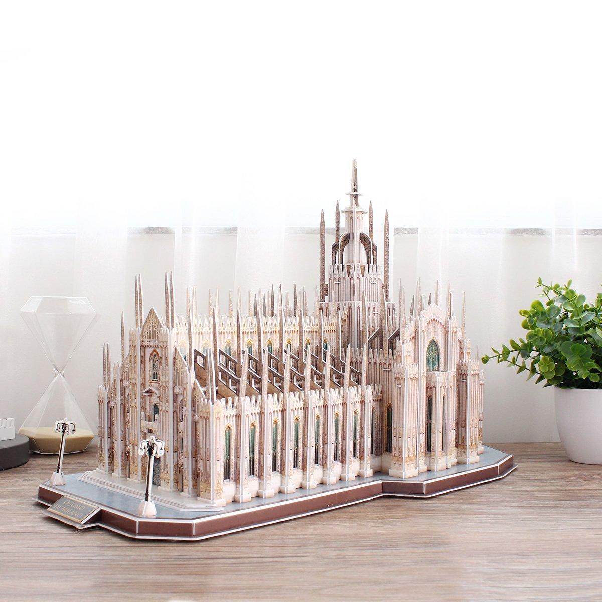 Cubic Fun mc210h - 3d Puzzle il Duomo de Milano, Italia: Amazon.es: Juguetes y juegos