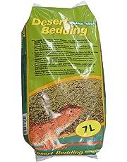 LUCKY REPTILE DBY-7 Desert Bedding Matelas Jaune doré 7 l