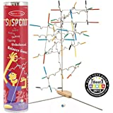 2 Item Bundle: Melissa & Doug 4371 Award-Winning Suspend Family Game+ Free Activity Book