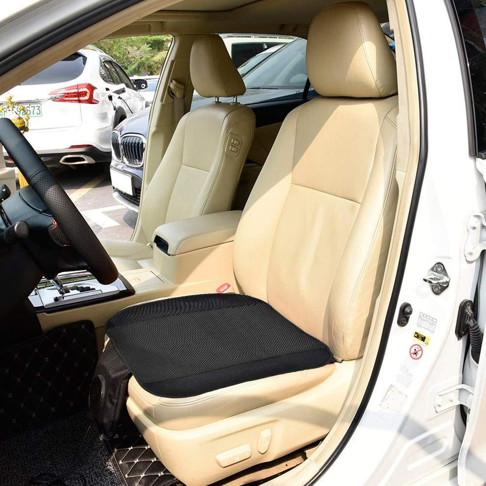 Tappetino coprivaso climatizzatore con Ventola per Auto Regolabile a 3 Livelli per Auto estive Yunhigh Coprisedile di Raffreddamento per seggiolino Auto 12V con Tappo accendisigari
