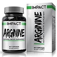L-Arginine HCL - Pre Workout Supplement with L-Arginine AKG, L-Citrulline, and Beta Alanine for Men & Women - 60 Capsules (30 Day Supply) by Earths Design