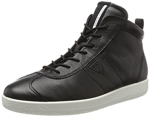 Mens Soft 1 Hi-Top Trainers Ecco KPf59Xua