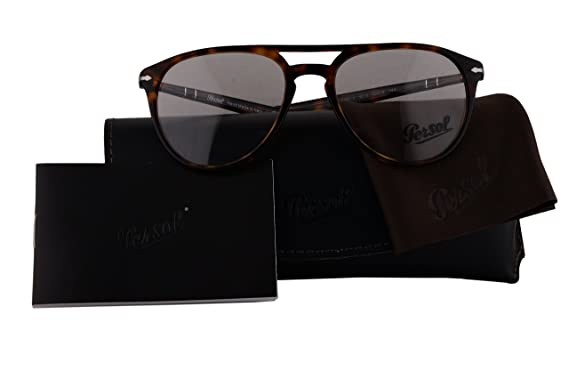 9c6e92be2d2 Persol Authentic Eyeglasses PO3160V Havana w Clear Demo Lens 9015 PO 3160-V  (52mm)  Amazon.co.uk  Clothing