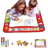 BCMRUN Water Doodle Magic Mats,Pittura Doodle Water Mat con 4 penna di disegno dell'acqua per i bambini (31.5''*23.6'')