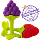 Amazon Price History for:Nurtureland Teething Toys for Best Baby Teether Massage. Molar Teeth Soother with Soft Sensory BPA Free Natural Silicone Teethers Toy for Babies - Make Your Happy Infant Smile Easy Now!