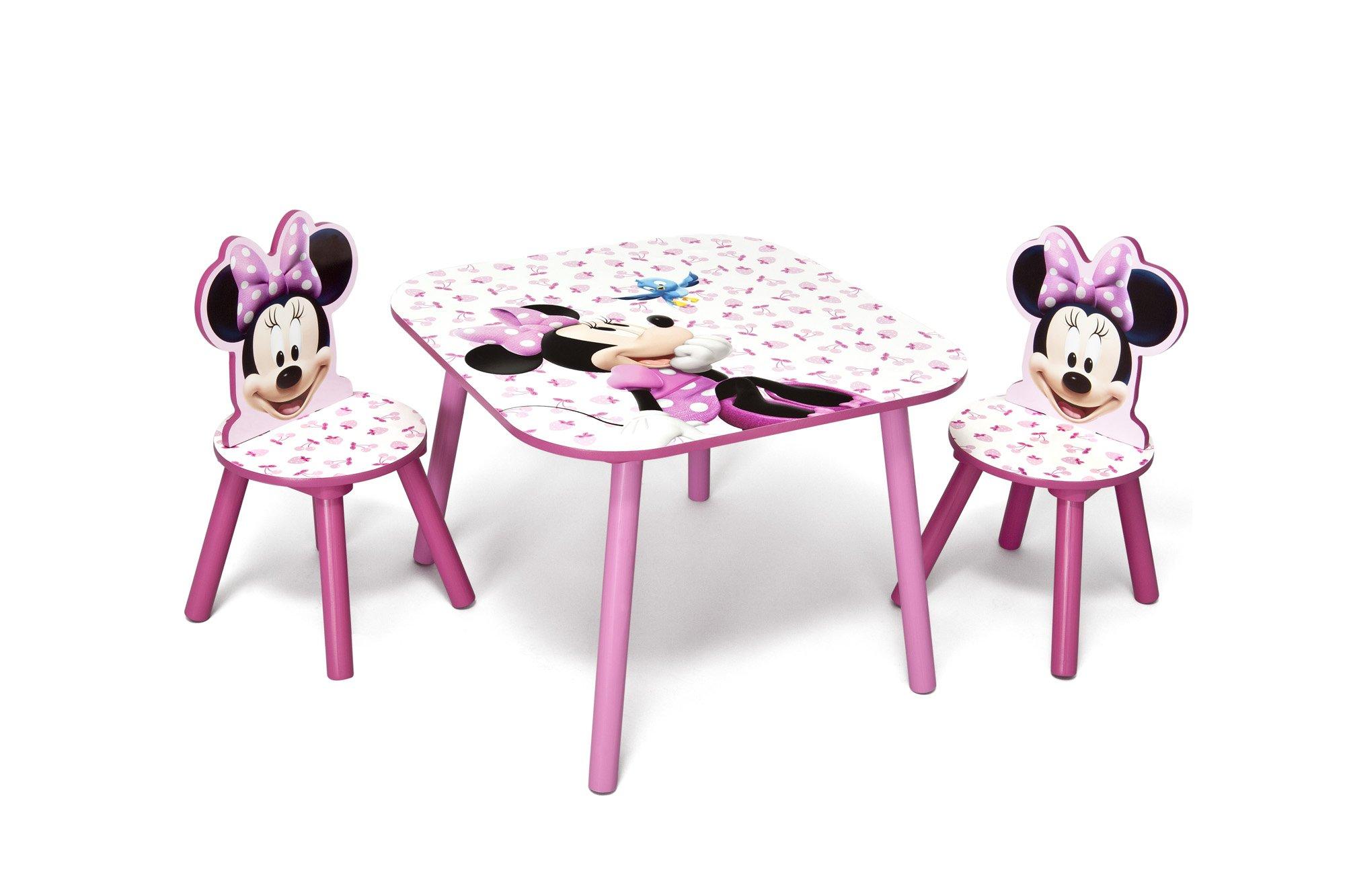 Delta Children Disney - Set Tavolo con 2 sedie per bambini Minnie Mouse product image