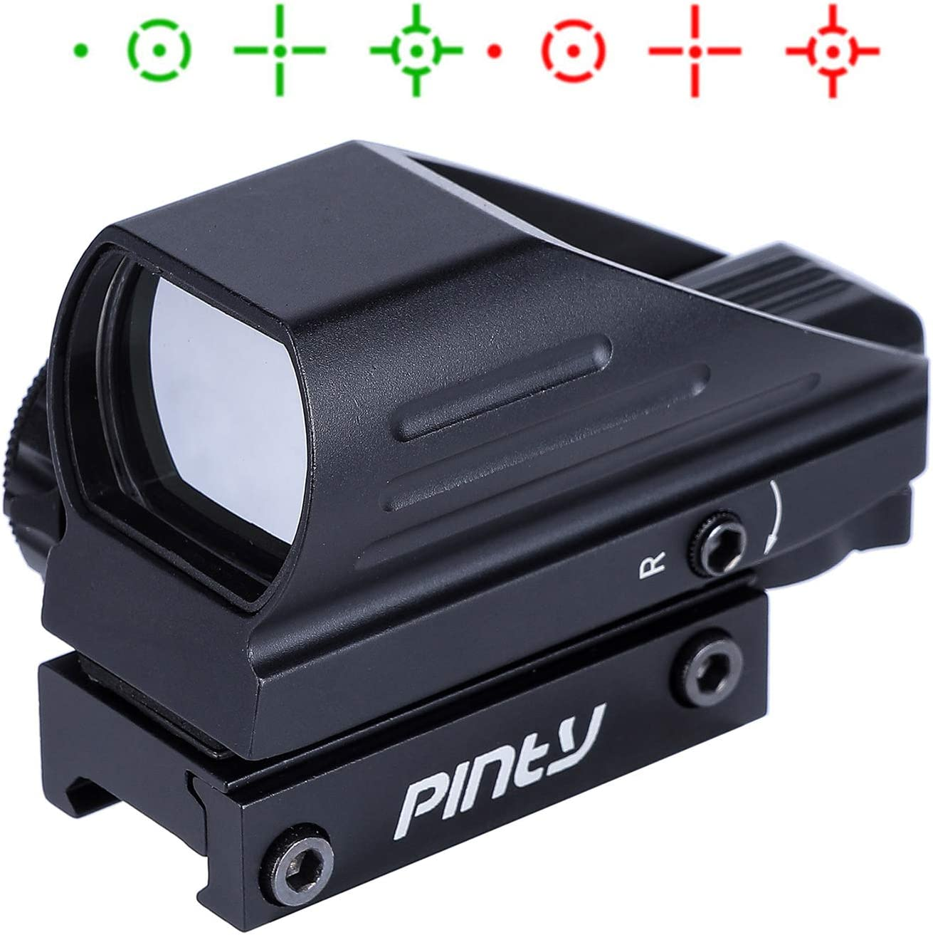 5. Pinty Red Green Reflex Holographic Rifle Scope Dot Sight