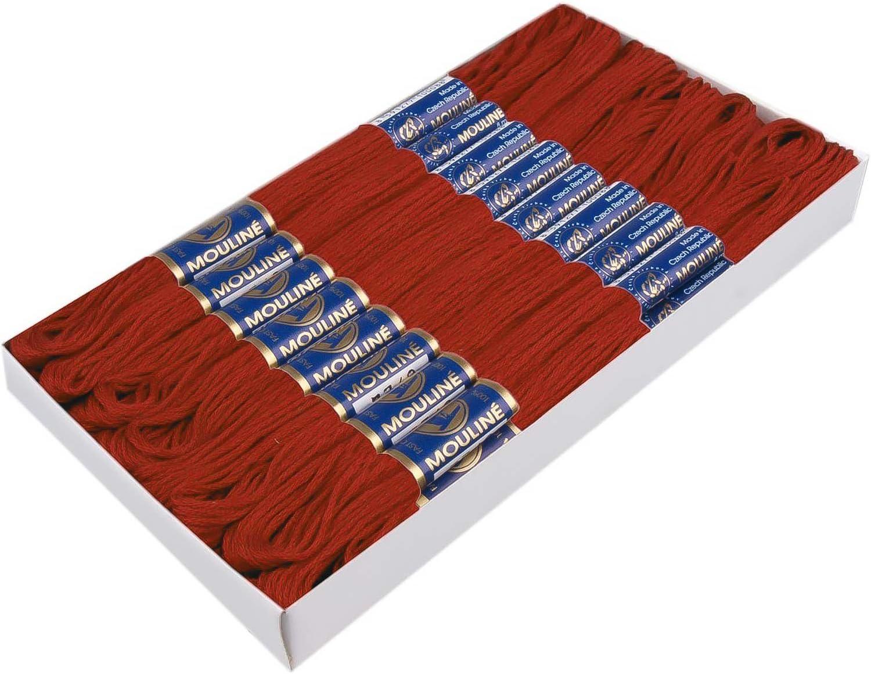 Farbe 7342 rustikal maDDma 24 Docken Stickgarn//Sticktwist 100/% Baumwolle Stickerei Verschiedene Farbwahl