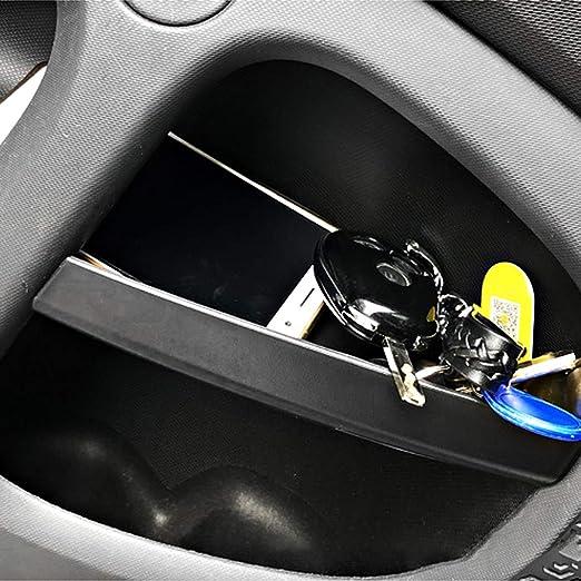 Yiwang Abs Kunststoff Autotürgriff Aufbewahrungsbox Behälter Handschuh Auto Organizer Für Benz Smart 453 Fortwo 2015 2019 Auto