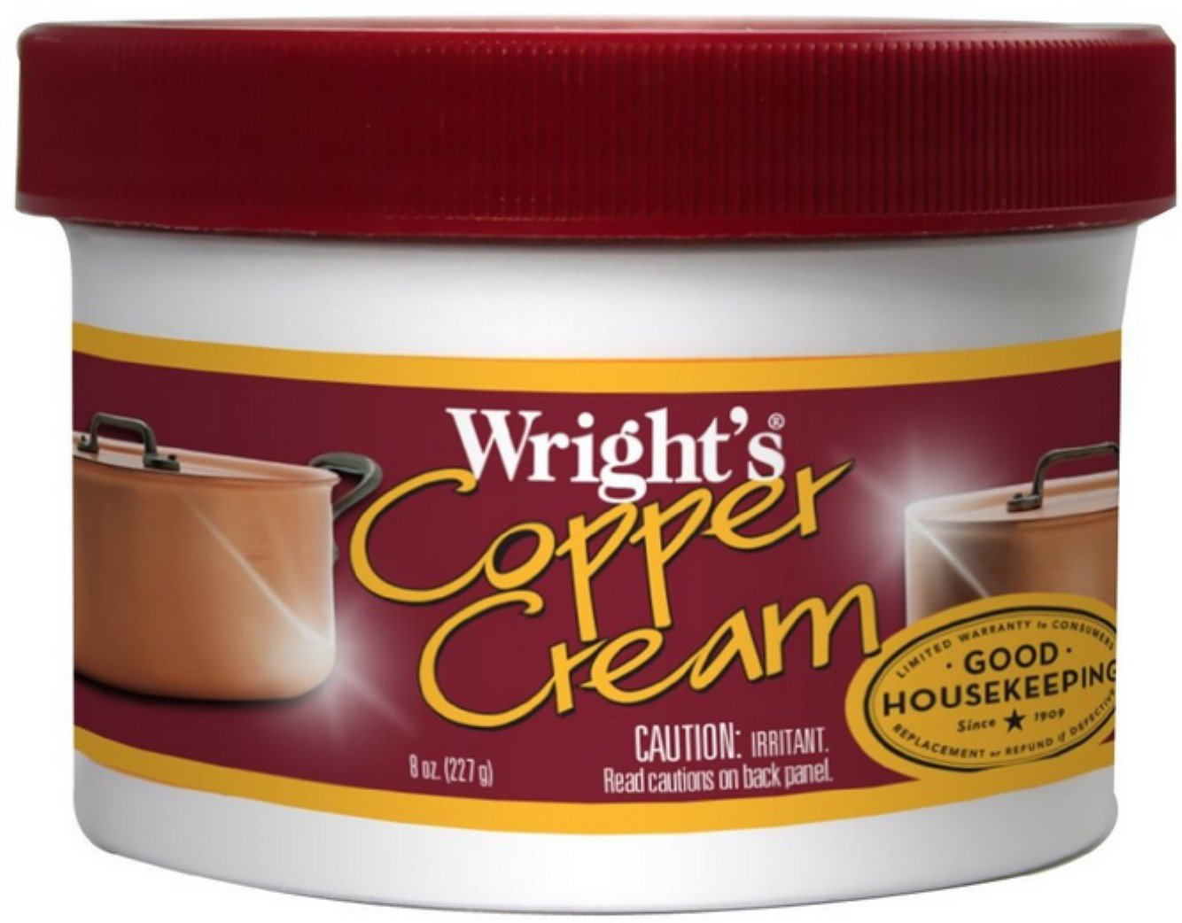 Wright's Copper Cream 8 oz (Pack of 5)