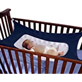 Baby Hammock For Nursery Beds Cribs Bedding Crescent Hammocks Blue Absolutely Safety Sleeping Baby Womb Hammocks by Babykim
