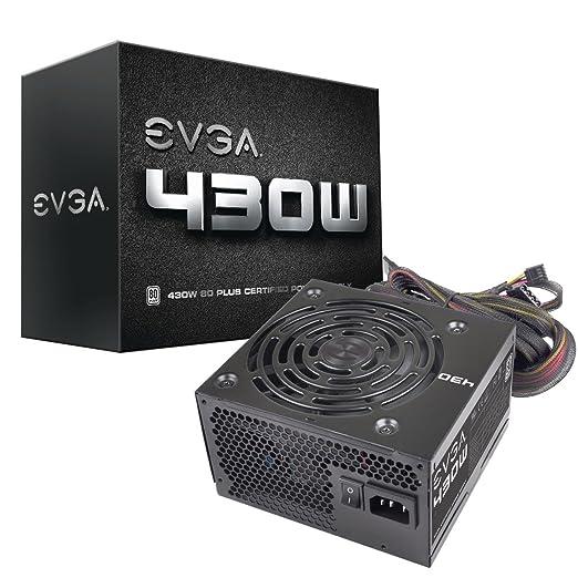 9 opinioni per EVGA 430W 430W Alimentazione per PC, Nero