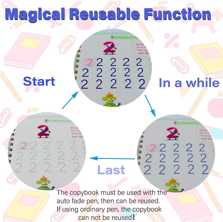 Sank Magic Practice Copybook,English Magic Practice Copybook for Kids,sank copy of magic practice copybook handwriting copybook 4 Handwriting Copybooks flownwing copybook magic practice copybook set