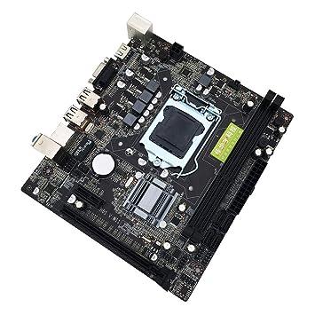 Placa Base, Intel H61 LGA1155 VGA Salida de Pantalla Nuclear ...