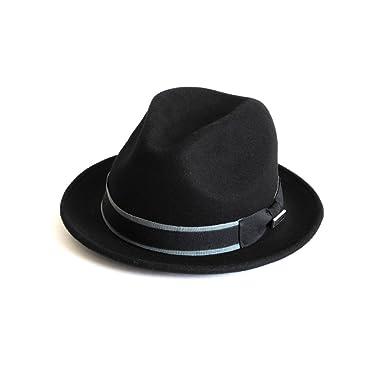 d0517df751ea90 Dasmarca Mens Crushable Packable Felt Fedora Hat at Amazon Men's ...