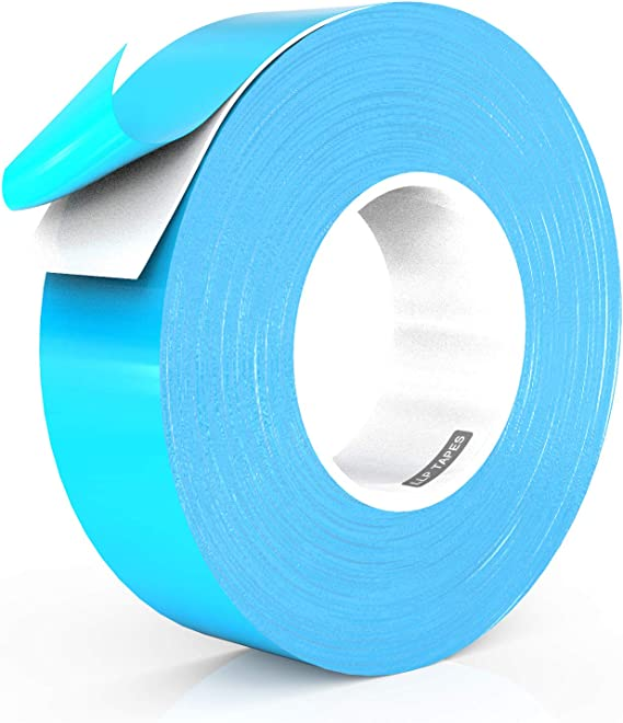 High Thermal Conductivity and Electrical Insulating Thermal Tape for LED Strips 1 Inch x 90 Feet XFasten Thermal Double-Sided Adhesive Tape Computer CPU 3D Printing Beds Heat Sinks