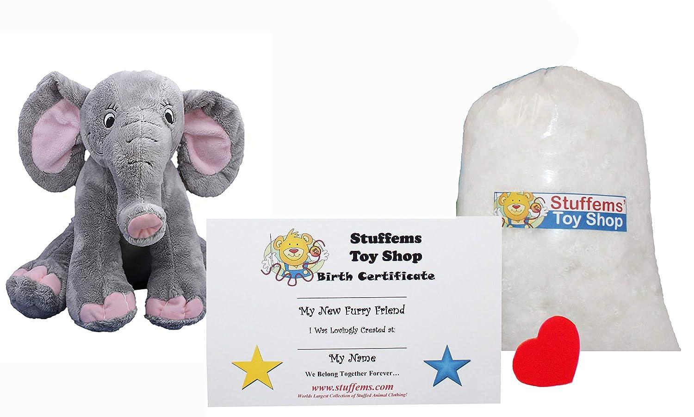 Amazon Com Make Your Own Stuffed Animal Mini 8 Inch Happy Elephant