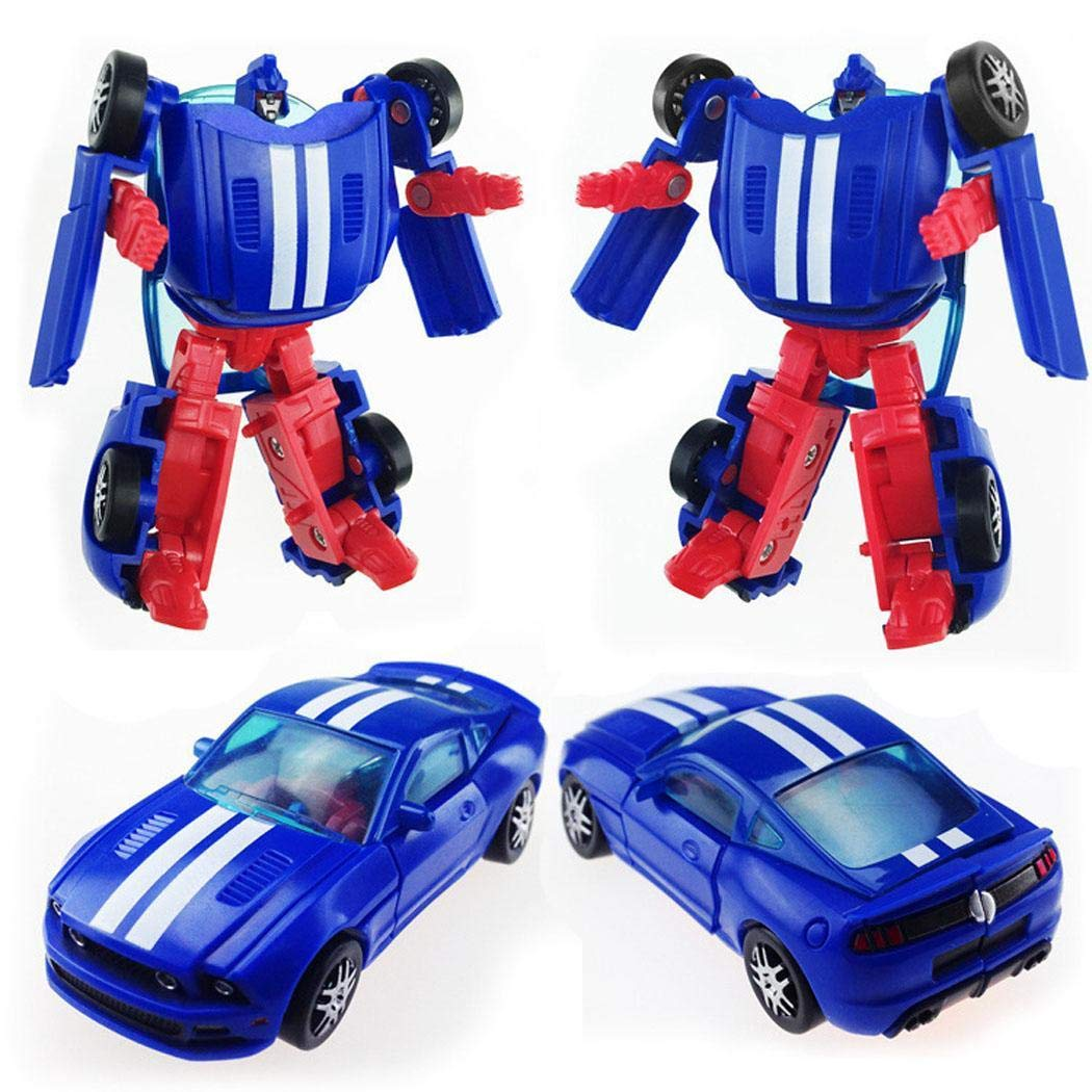 Eroihe 1PC Mini Pocket Transformers Robot and Cars Toys Kid Toys Gifts