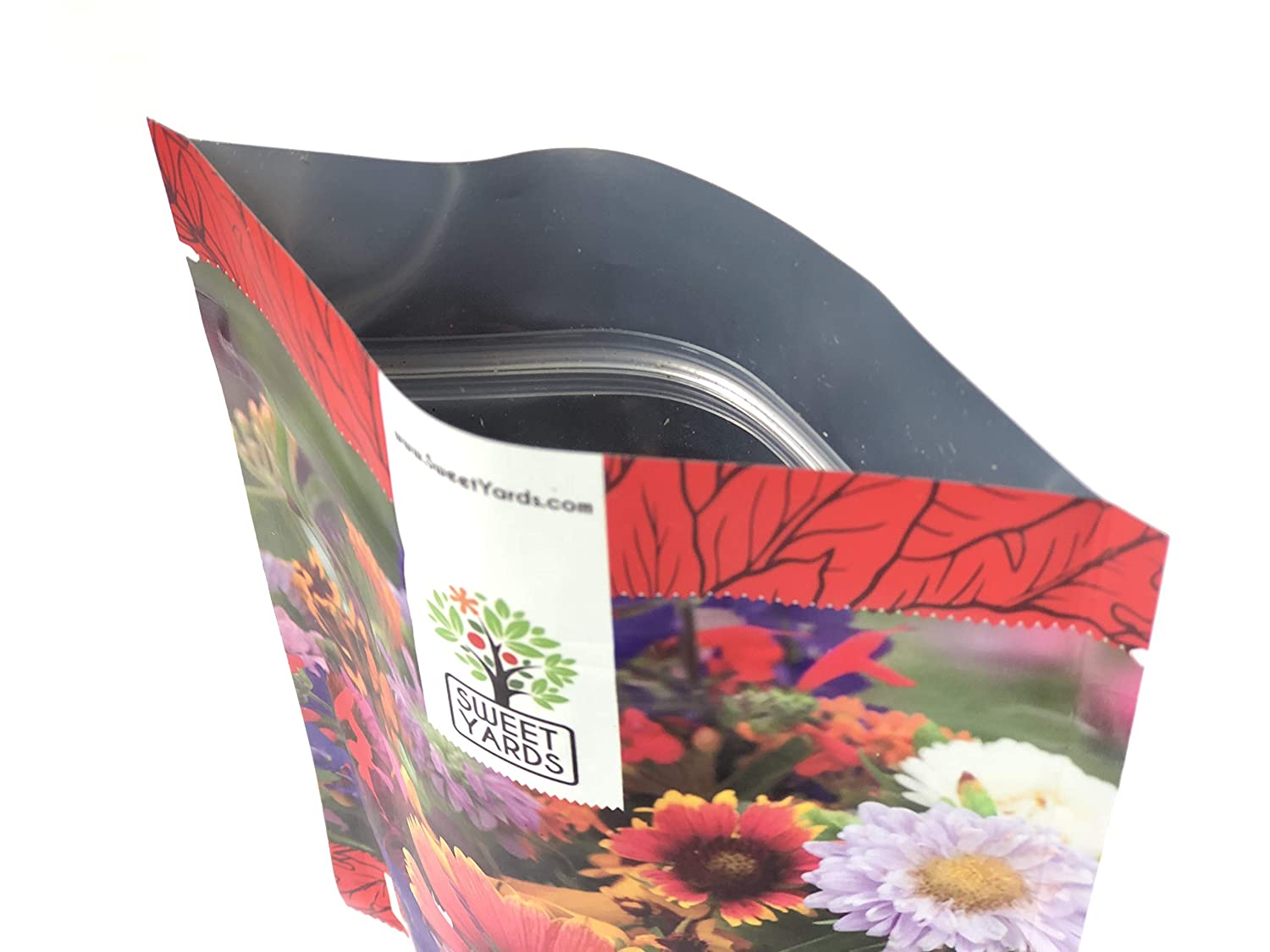 Over 30,000 Open Pollinated Annual and Perennial Seeds Bulk Wildflower Seeds Butterfly and Humming Bird Mix 1//4 Pound Bag