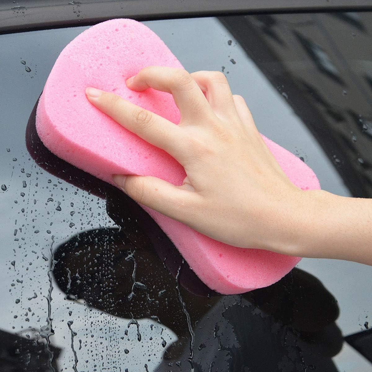 1 Piece Big Sponge for Car//Bike//Motorcycle Washing Cleaning Lantee Large Car Wash Sponge Kitchen Cleanup Water Game Blue