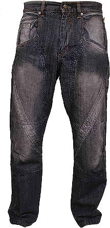 Disco De Hombres Vestidos De Negro Para Trabajo Pesado El Trabajo Campesino Mechanis Moda Pantalones Vaqueros Pantalones Amazon Es Ropa Y Accesorios