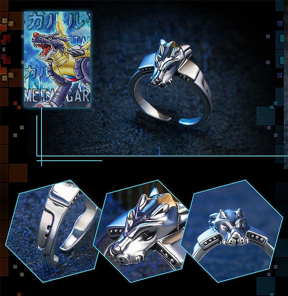 Resultado de imagen para MetalGarurumon  925 Sterling Silver Ring
