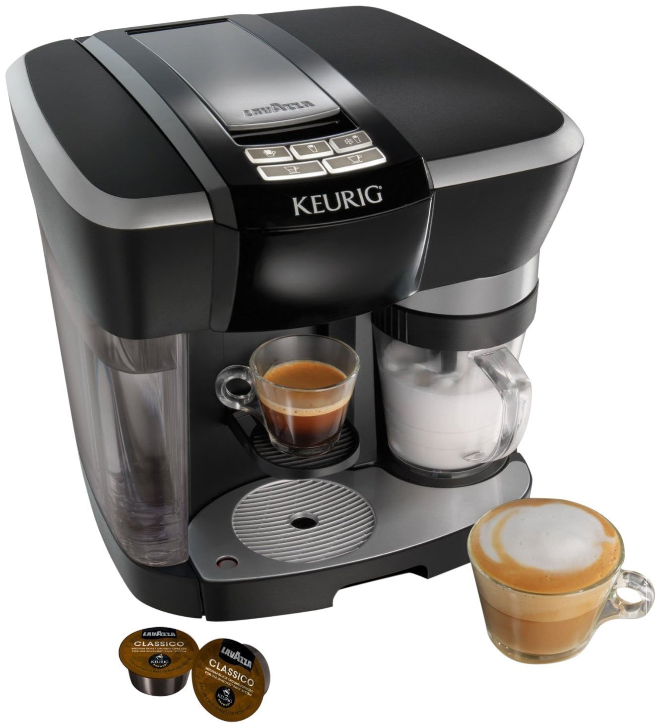 Keurig coffee makers at bed bath and beyond - Amazon Com The Keurig Rivo Cappuccino And Latte System Single Serve Brewing Machines Kitchen Dining