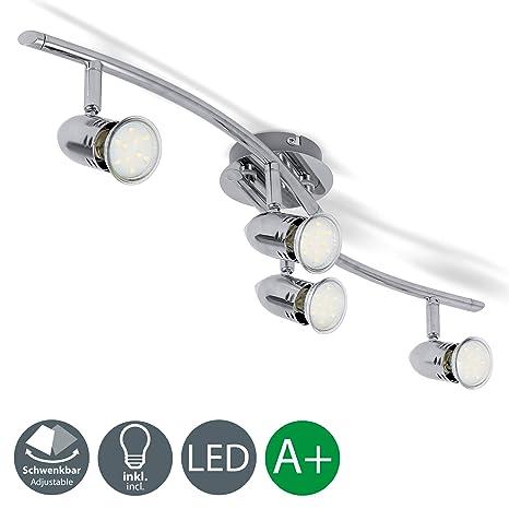 Lámpara de techo con focos redondos I Foco LED para techo I modernas I Luz de