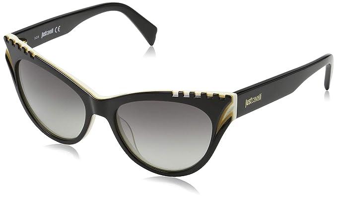 Just Cavalli Sonnenbrille JC787S 05A 53 Gafas de Sol, Negro ...
