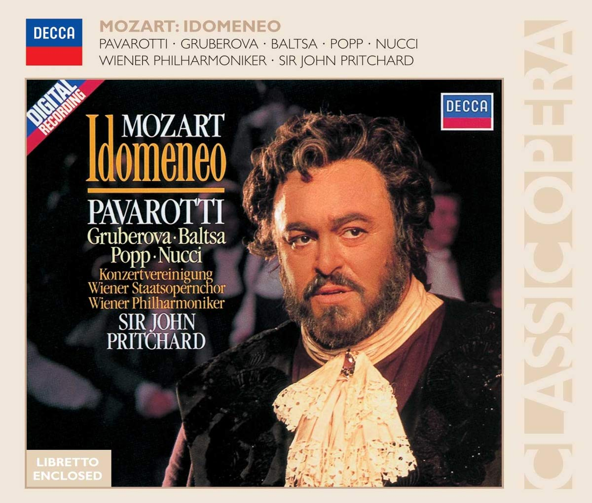 Mozart: Idomeneo Pavarotti Special price for a limited time Pritchard VPO Gruberova Sales of SALE items from new works