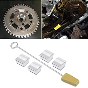 Amazon com: Yoursme Cam Phaser Lock Out Kit Camshaft Pulley