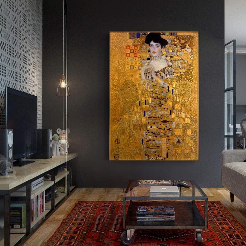 Geiqianjiumai Famoso Retrato réplica Pintor Beso Mural Pintura sin ...