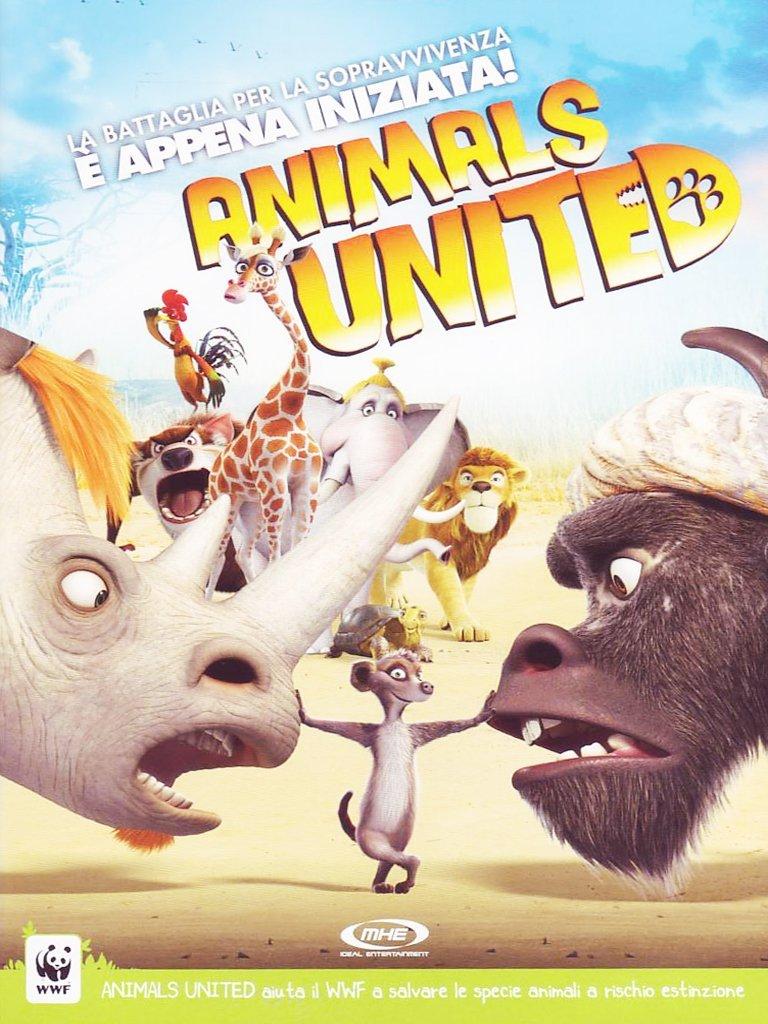 Animals united: amazon.it: reinhard klooss holger tappe: film e tv