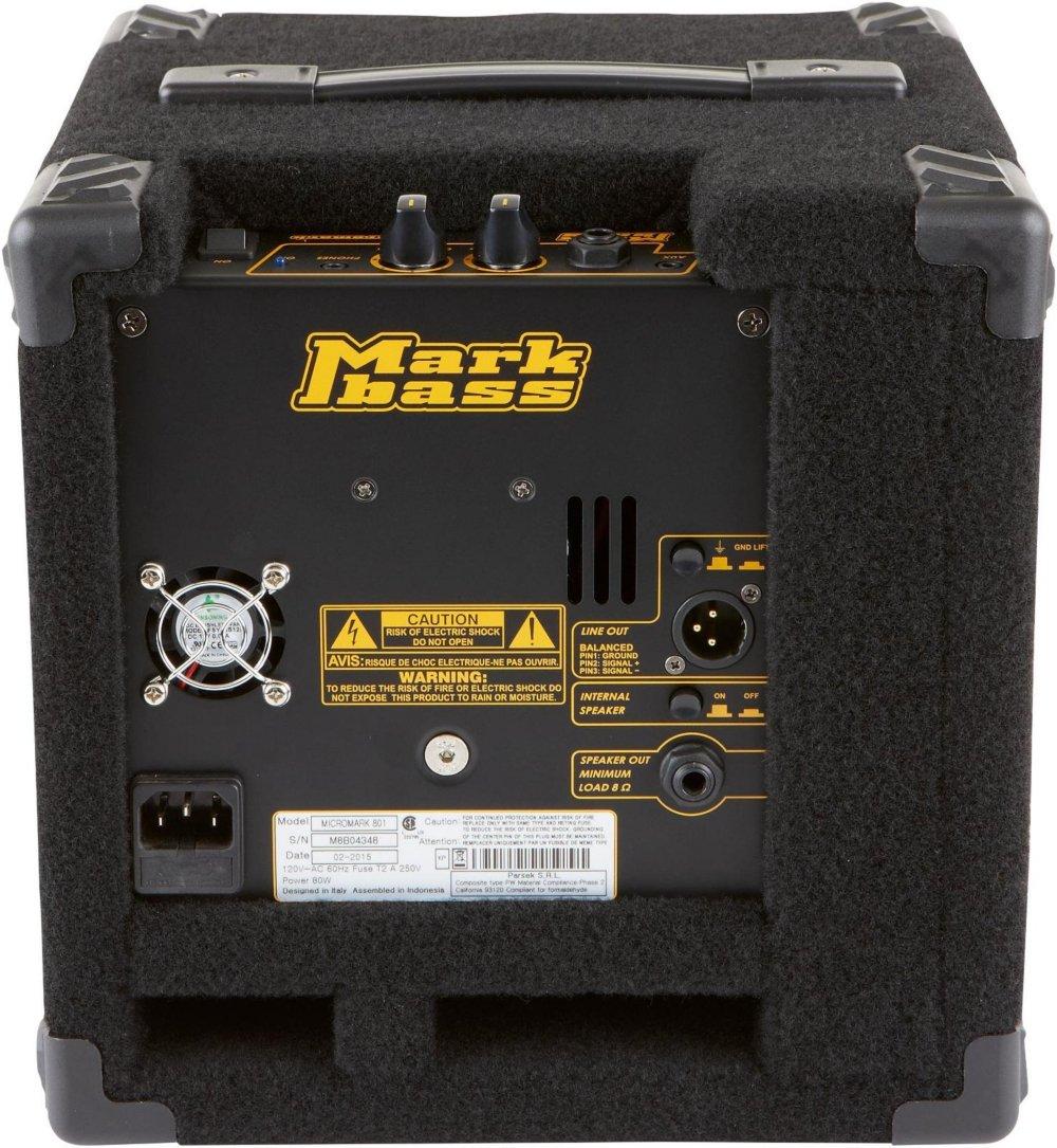 MarkBass Micromark 801 · Amplificador bajo eléctrico: Amazon.es: Instrumentos musicales