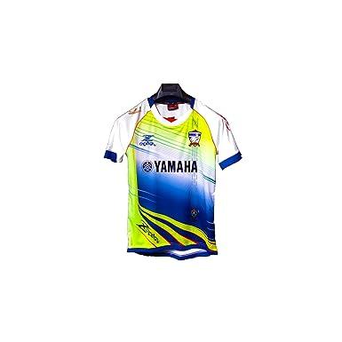 Thailand White Yamaha Cadenza Shirt Blue Yellow White