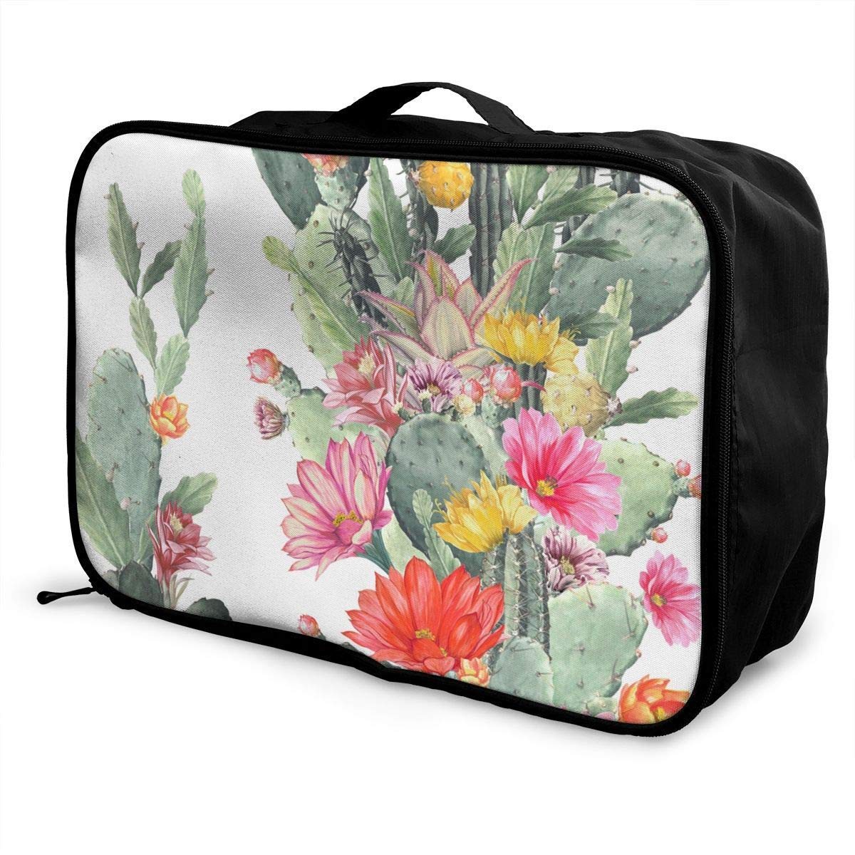 Wilder California Prickly Pear Cactus Travel Duffel Bag Waterproof Fashion Lightweight Large Capacity Portable Duffel Bag for Men /& Women JTRVW Luggage Bags for Travel
