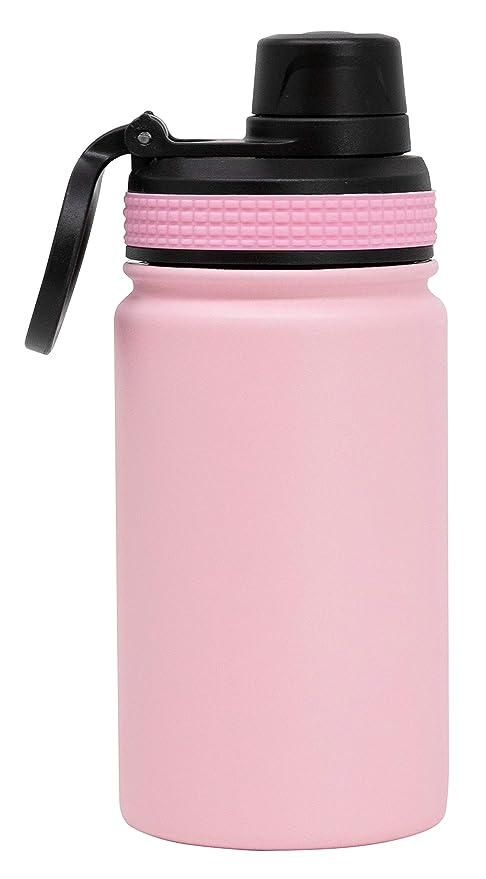 MIRA Botella de agua de acero inoxidable para deportes de 12 ...