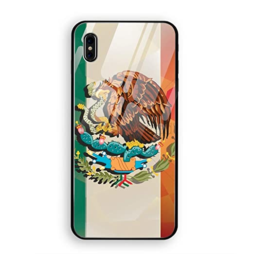 Amazon.com: Cute Mexican Flag Personalized iPhone X Cover ...
