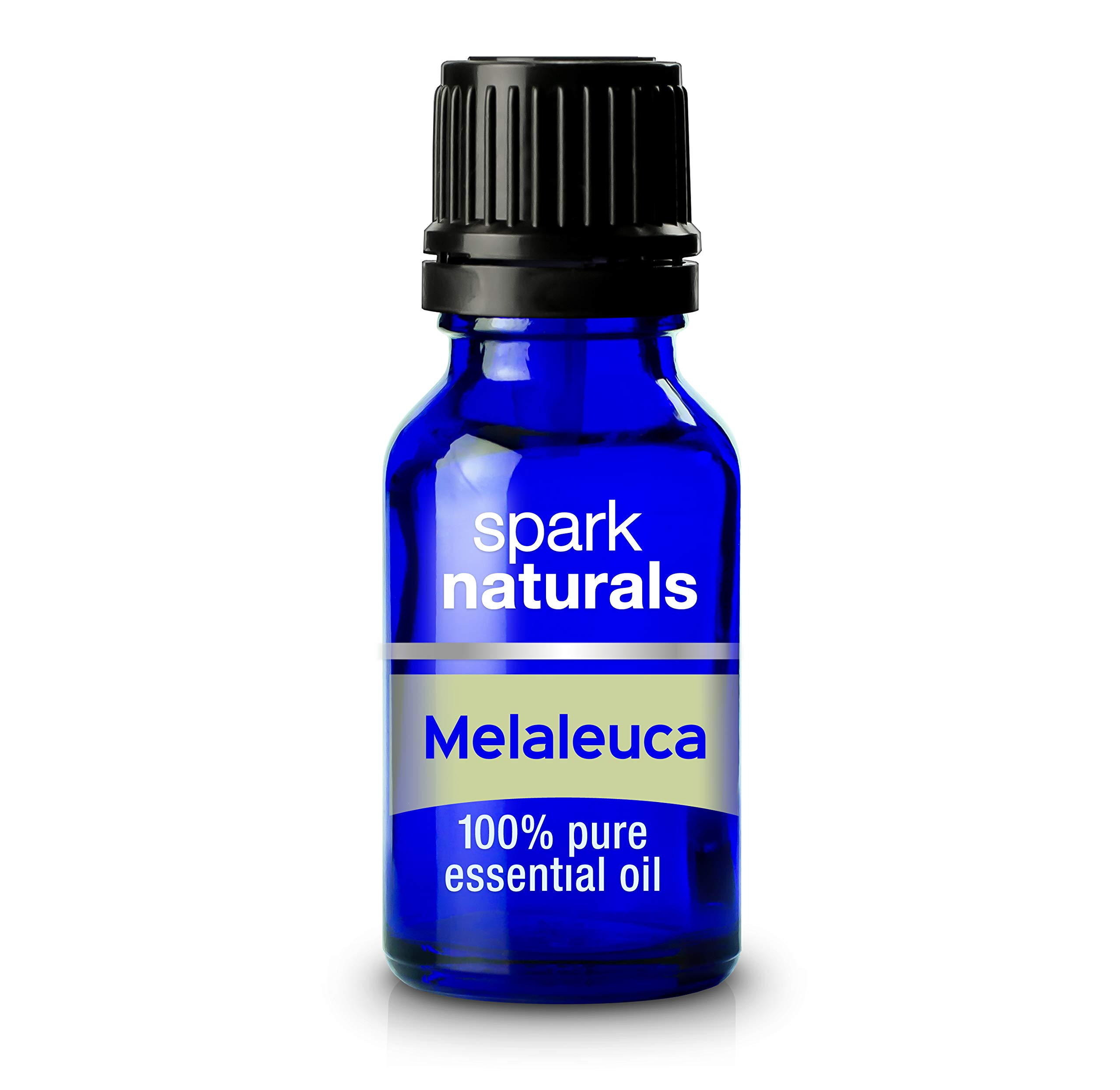 Melaleuca (Tea Tree) Essential Oil 15ml Spark Naturals - 100% Pure Therapeutic Grade, Highest Organic Quality, Aromatherapy, Natural Product- Diffuser & Humidifier Friendly by Spark Naturals