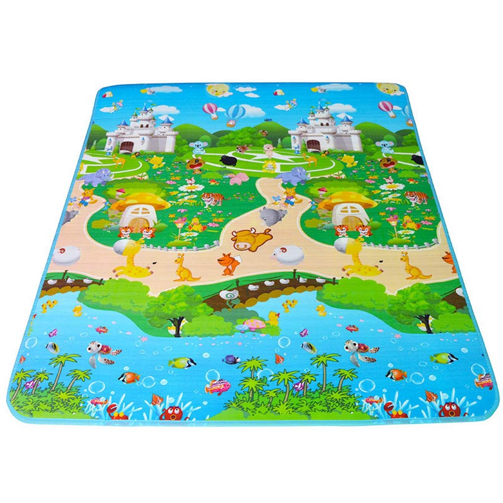 Double Sided Baby Play Mat Baby Playmat Children Rugs Play Gym Kid Carpet Baby Play Carpet EVA Mat 1801501cm