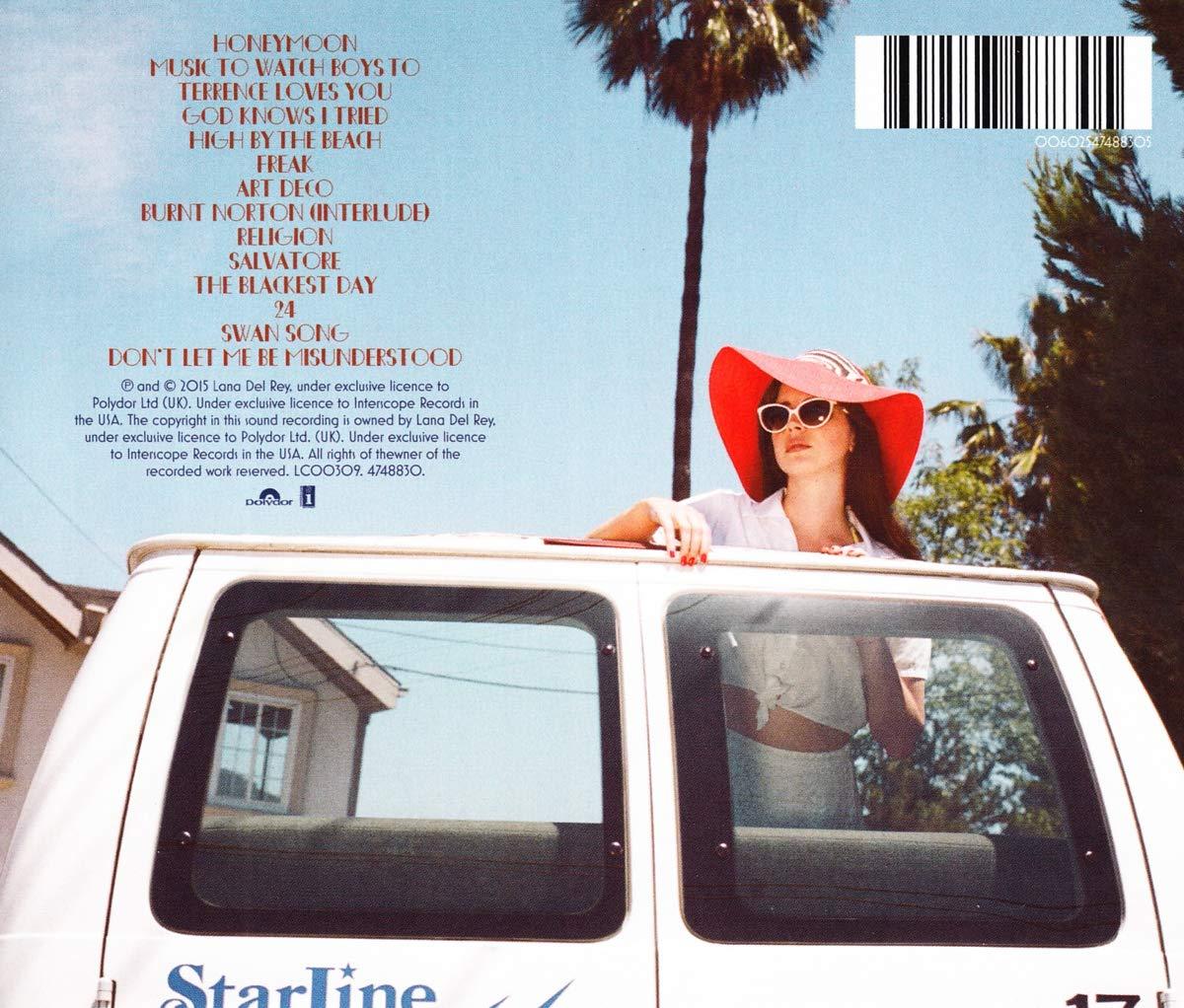 Honeymoon Lana Del Rey Lana Del Rey Amazon Fr Musique