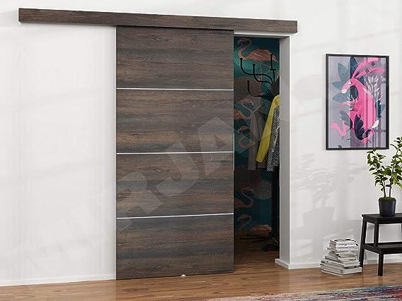 Mirjan24 Puerta Corredera Sistema Multi Plus Set Completo para Puertas correderas con guía de Suelo Distancia Guía divisores Puertas Interiores: Amazon.es: Juguetes y juegos