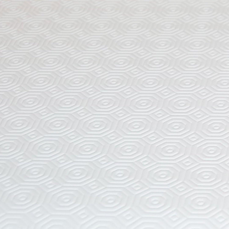 Tischschoner Weiss Eckig 90x70 cm /· L/änge w/ählbar Unterlage Tischpolster