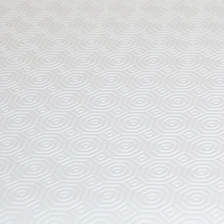Tischschoner Weiss Eckig 110x25 cm /· L/änge w/ählbar Unterlage Tischpolster