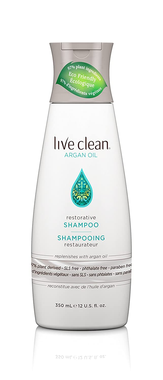 Live Clean Exotic Nectar Argan Oil - Restorative Shampoo