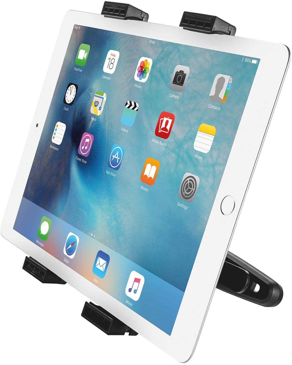 Trust 18639 - Soporte universal para tablet para el reposacabezas del coche: Amazon.es: Informática