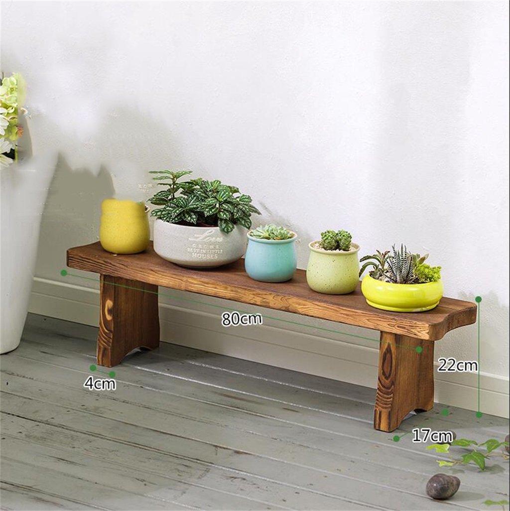 Cornice floreale   Stand per piante all'aperto   Combinazione di scalette in legno massello Stand di fiori   scaffali di atterraggio Vasi per fiori Rack Stand Espositore per fiori per balcone Soggiorn